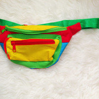 Vintage Colorful Fanny Pack
