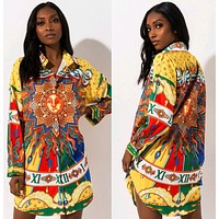 Versace Fashion printed sun shirt