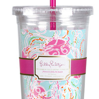 Lilly Pulitzer Tumbler with Straw- Jellies Be Jammin'
