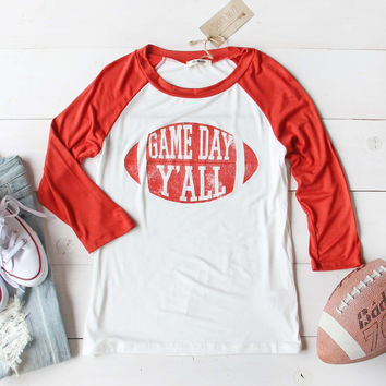 Game Day Y'all Tee