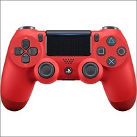 Official DualShock PS4 Wireless Controller for PlayStation 4 - Magma Red NEWEST