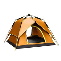 3-4 Person Fully Automatic Rainproof Dome Tent