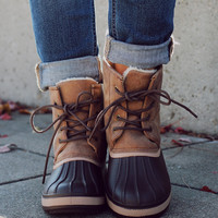 Scenic Route Boot - Brown