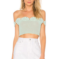 Tularosa Izzy Crop Top in Mint