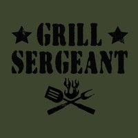 Grill Sergeant Shirt Grilling Dad Father Mens Guys Military Funny Tee T Shirt XL
