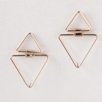 New Wave Triangle Earrings | Ruche