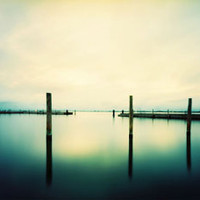 Color Landscape Pinhole Photography Fine Art Print:  6x15 Panoramic Film Photograph, Wall Art and Home Decor