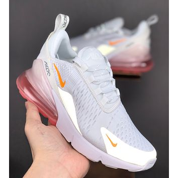 NIKE AIR MAX 270 3M Reflective Fashion Sports Leisure Shoes