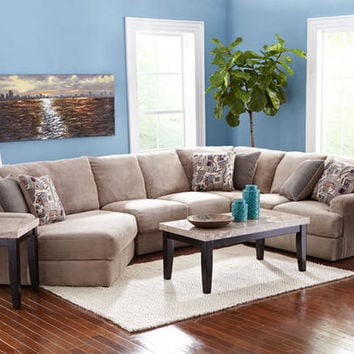 Malibu 3 pc sectional featuring left arm from for 3pc sectional with chaise