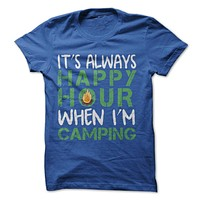 Happy Hour Camping T-Shirt