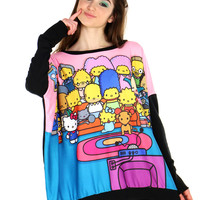 COUCH PARTY OVERSIZED PULLOVER