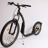 Cross Max Kickbike Scooter (Matte Black)