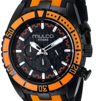 MULCO Unisex Titan Wave Analog Display Chronograph Watch