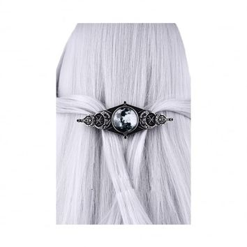 Restyle Moon Geometry Hair Clip | Attitude Clothing