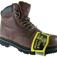 New Men's 622S Full Leather Oil Resistant Heavy Duty Steel Toe Safety Work Boots