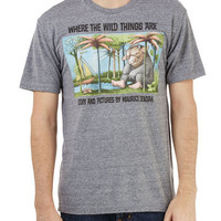 Out of Print Nifty Nerd Mid-length Short Sleeves Novel Tee in Max - Men's
