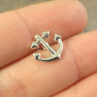 Anchor Cartilage Earring Tragus Piercing