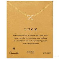 Jewelry Gift Shiny Stylish New Arrival Butterfly Alloy Lock Necklace [7992532673]