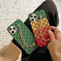 GG Contrasting Double G iPhone 7/8/11/12 Case