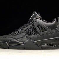 Soleki x Air Jordan 4 Black Cat A 308497-002