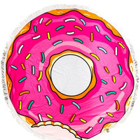 I Donut Care Beach Towel
