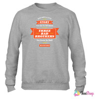 AD ROCK BEASTIE BOYS SHIRT Crewneck sweatshirtt
