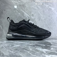 HCXX N1043 Nike Air Max 720 inne eye Mesh Breathable Comfortable Running Shoes Black