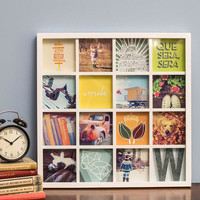 Dorm Decor Memorable Style Frame in White by ModCloth