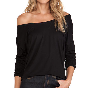 Feel the Piece Cameron Top in Black