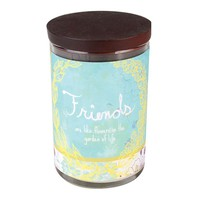 WoodWick 9.5-oz. Inspirational Friends Jar Candle (Green)