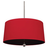 Willamsburgh Custis Pendant Light | Red