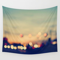 We're only young once Wall Tapestry by Laura Ruth
