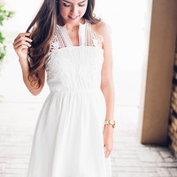 Just Say I DO White Lace Dress