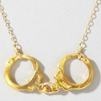 fredflare.com | 877-798-2807 | police & thieves handcuffs necklace