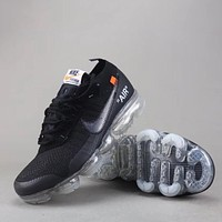 Trendsetter Off White X Nike Air Vapormax Flyknit Betrue  Women Men Fashion Sneakers Sport Shoes