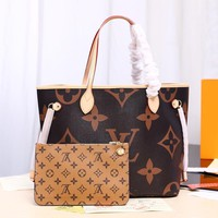 Kuyou Lv Louis Vuitton Fashion Women Men Gb2964 M40995 Neverfull Mm 32x29x17cm