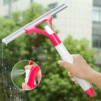 Spray type cleaning brush glass wiper window clean shave car window cleaner brush cleaner nettoyage