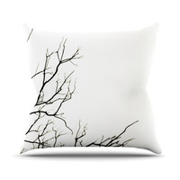 "Skye Zambrana ""Winter"" Outdoor Throw Pillow, 20"" x 20"" - Outlet Item"