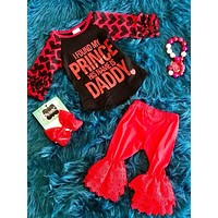 Valentines I Found My Prince Girls Shirt V