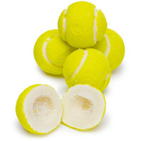 Tennis Balls Sour Powder Filled Gumballs: 1KG Bag