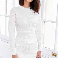Glamorous Textured Sweaterknit Bodycon Dress