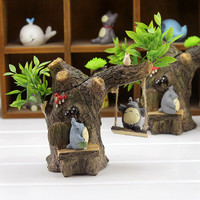 Creative Gifts Resin Home Decoration Cats Pen Home Decor [4923085764]