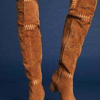 Matisse Embroidered Knee-High Boots