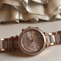 DCCK7BE Michael Kors Parker MK5896 Wrist Watch for Women