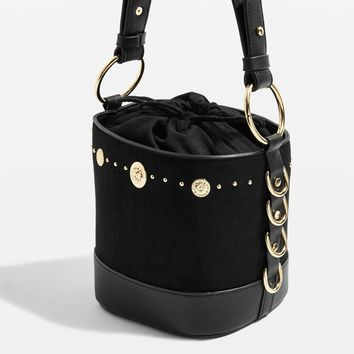 Stud Bucket Bag | Topshop