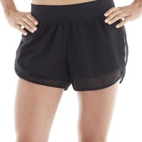 Michi Strata Shorts | Black Running Shorts