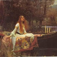 John William Waterhouse Lady of Shalott Poster 24x36