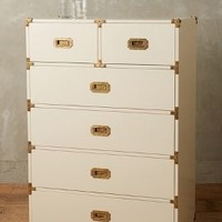 Lacquered Wellington Six-Drawer Dresser by Anthropologie