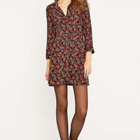 Urban Outfitters Belted Floral Shirt Dress - Urban Outfitters