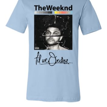 beauty behind the madness the weeknd tshirt